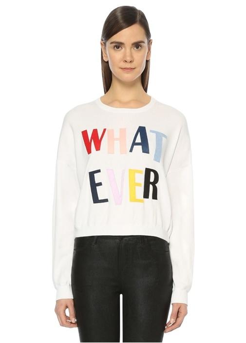 Whatever Beyaz Triko