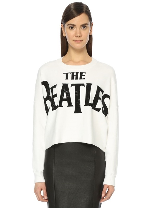 The Beatles Beyaz Triko