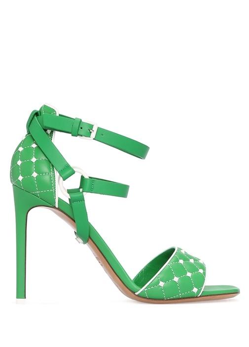 Valentino Garavani Yeşil Free Sandalet