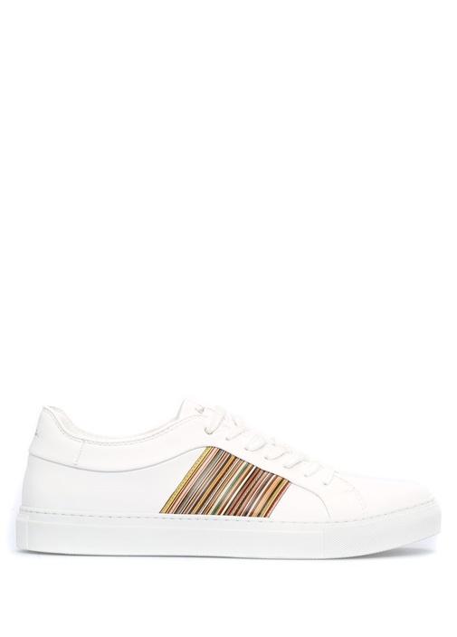 Paul Smith Beyaz ERKEK  Ivo Beyaz Deri Erkek Sneaker 439653 Beymen