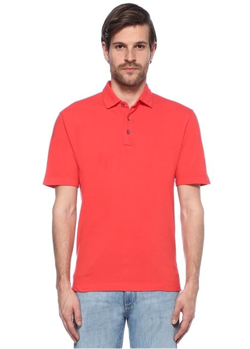 Pembe Polo Yaka Tshirt