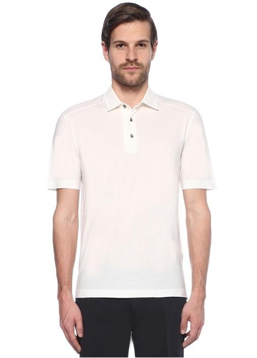 Beyaz Polo Yaka Tshirt