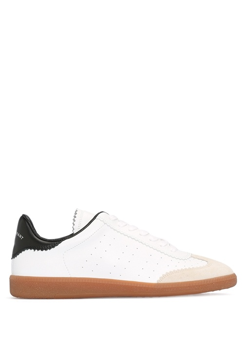 Isabel Marant Beyaz KADIN  Bryce Beyaz Deri Kadın Sneaker 393287 Beymen