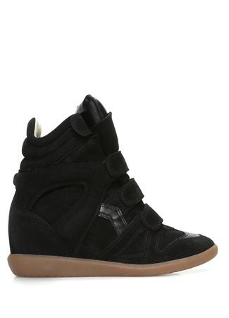 Isabel Marant Kadın Bekett Siyah Süet Sneaker 35 R Ürün Resmi