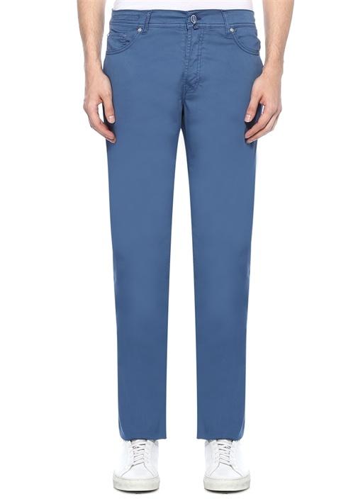 Upnjsm Mavi Normal Bel Boru Paça Pantolon