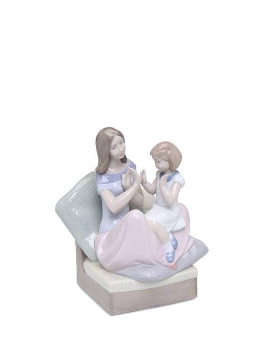 Anneyle Oyun Porselen Biblo