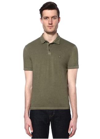 Erkek Polo Yaka T-shirt Haki XL EU