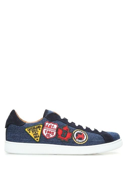 Dsquared2 Mavi ERKEK  Mavi Denim Görünümlü Erkek Sneaker 485861 Beymen