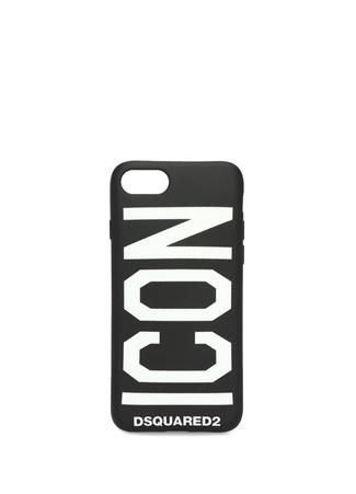 Dsquared2 Erkek Icon Siyah iPhone 6 6s 7 8 elefon Kılıfı Ürün Resmi