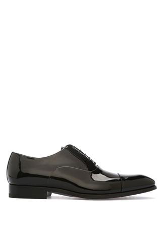 Magnanni Siyah Rugan Smokin Ayakkabısı