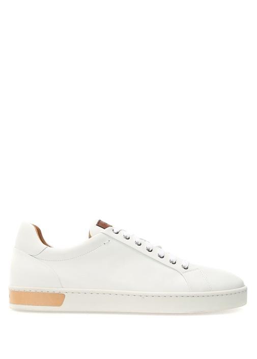Magnanni Beyaz ERKEK  Beyaz Erkek Deri Sneaker 474001 Beymen