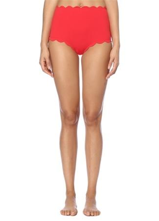 Marysia Kadın Santa Monica Kırmızı Yüksek Bel Bikini Altı M Ürün Resmi