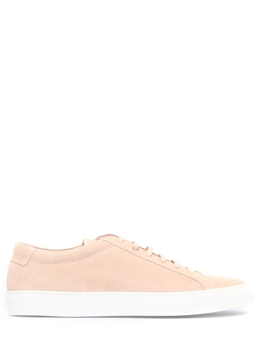 Common Projects Pudra ERKEK  Lace Up Deri Pudra Erkek Sneaker 462538 Beymen