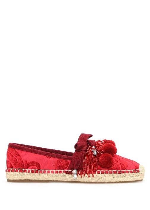 Marc Jacobs Kırmızı KADIN  Kırmızı Sienna Kadın Espadril 428160 Beymen