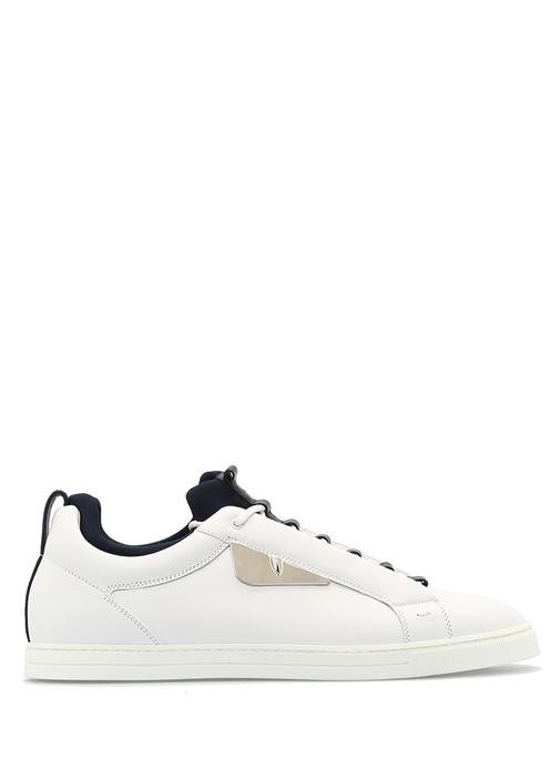 Fendi Beyaz ERKEK  Low Tops Deri Beyaz Erkek Sneaker 442877 Beymen