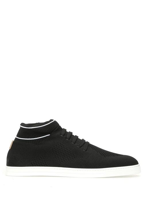 Fendi Siyah ERKEK  Knit Slip Ons Siyah Erkek Sneaker 374063 Beymen