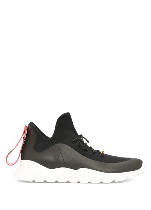 Fendi Siyah ERKEK  High Tops İn Technical Knit Siyah ErkekSneaker 442881 Beymen
