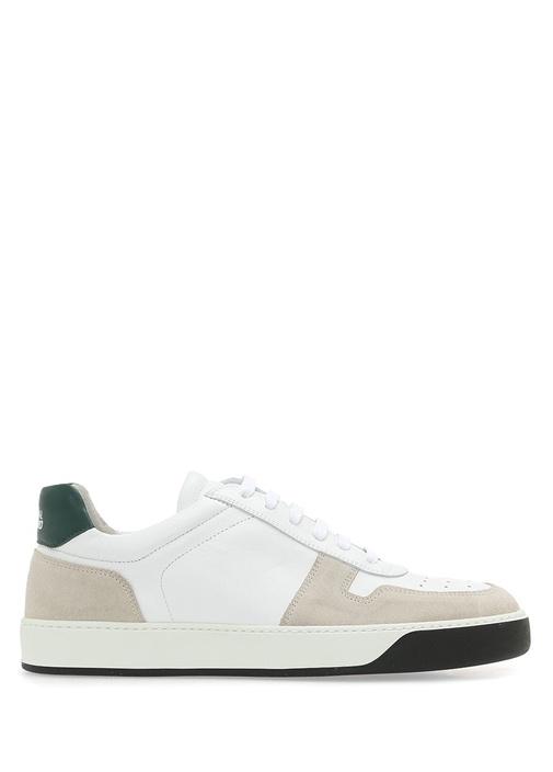 National Standard Beyaz-Yesil ERKEK  Beyaz Yeşil Erkek Deri Sneaker 505521 Beymen
