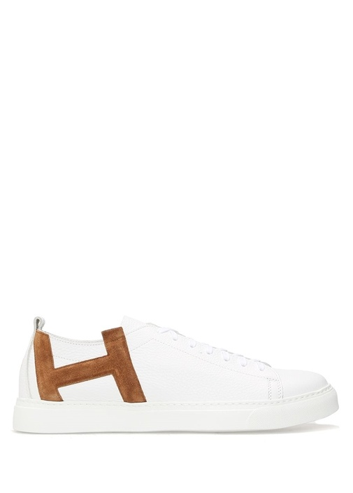 Henderson Taba-Beyaz ERKEK  Andy Taba Beyaz Deri Erkek Sneaker 369772 Beymen