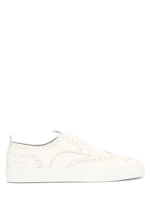 Grenson Beyaz ERKEK  Sneaker 3 Beyaz Erkek Deri Sneaker 470272 Beymen