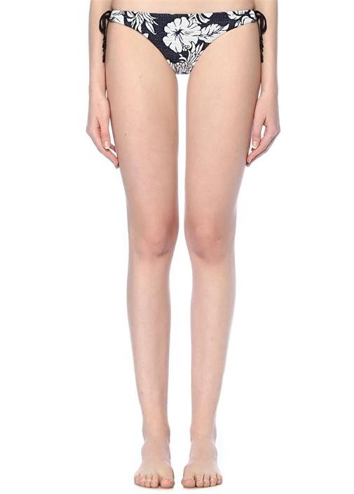 Royal Horizon Lacivert Çiçekli Bikini Altı