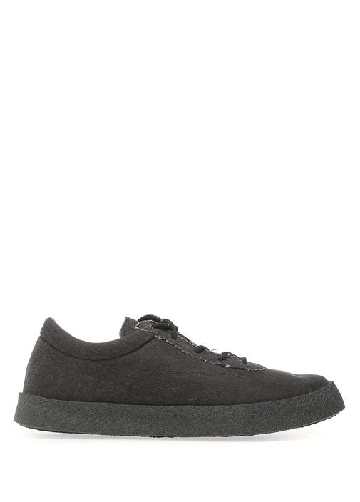 Yeezy Siyah ERKEK  Siyah Bağcıklı Kanvas Erkek Sneaker 517255 Beymen