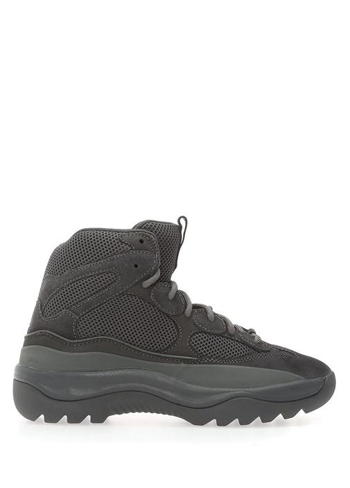 Yeezy Siyah ERKEK  Yeşil Bağcıklı File Dokulu Erkek Sneaker 517259 Beymen