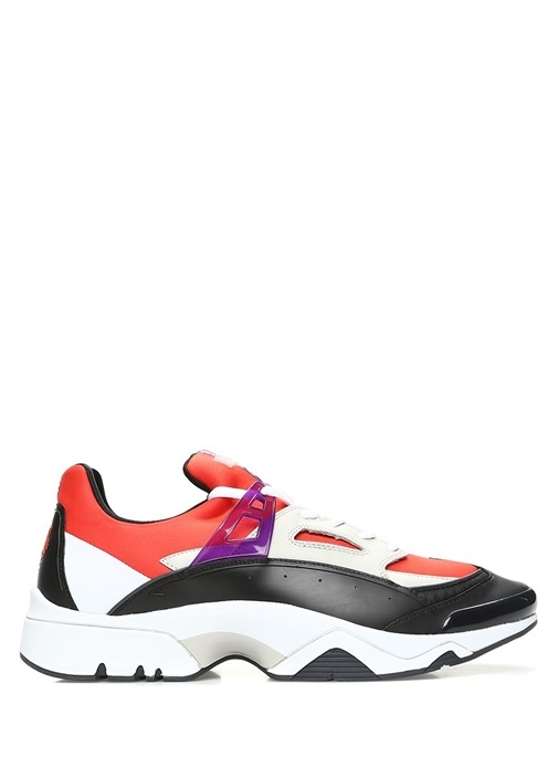 Kenzo Kırmızı ERKEK  Sonic Kırmızı Bağcıklı Erkek Sneaker 486667 Beymen