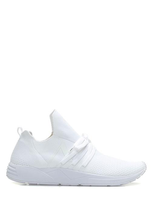 Arkk Copenhagen Beyaz ERKEK  Raven Beyaz Çorap Formlu Erkek Sneaker 511707 Beymen