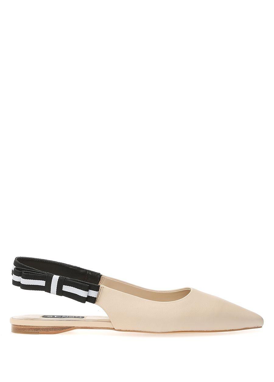 Senso Helene Ekru Kadın Deri Ayakkabı