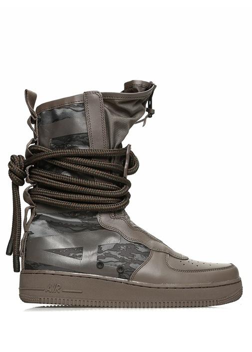 Nike Kahverengi ERKEK  SF Air Force 1 Hi Gri Erkek Bot 473225 Beymen