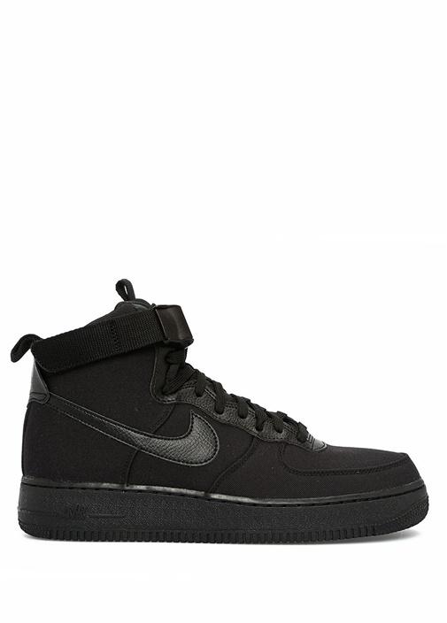 Nike Çok Renkli Siyah ERKEK  Air Force 1 High 07 Canvas Siyah Erkek Sneaker 470376 Beymen