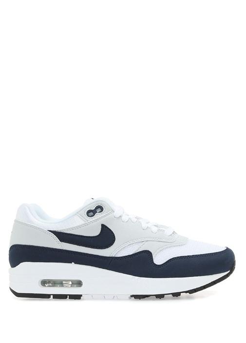 Air Max 1 Beyaz Lacivert Sneaker
