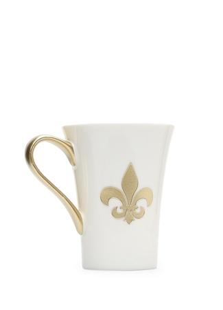 Kısmetce Fleur De Lis Kupa Beyaz Standart