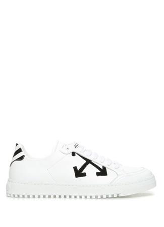 Off-White Kadın Juta Beyaz Deri Sneaker 41 R Ürün Resmi
