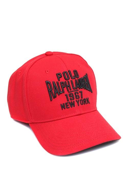 Polo Ralph Lauren Kırmızı ERKEK Kırmızı Logo Nakışlı Erkek Şapka ... 7956cc8343