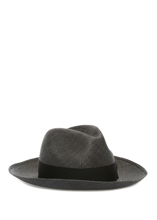 Siyah Erkek Hasır Şapka
