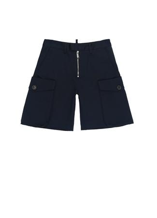 Dsquared2 Erkek Çocuk Lacivert Normal Bel Bol Paça Pantolon 10 Yaş Ürün Resmi