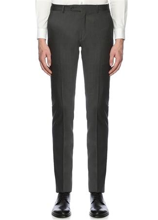 Gri 8 Drop Pilesiz Pantolon