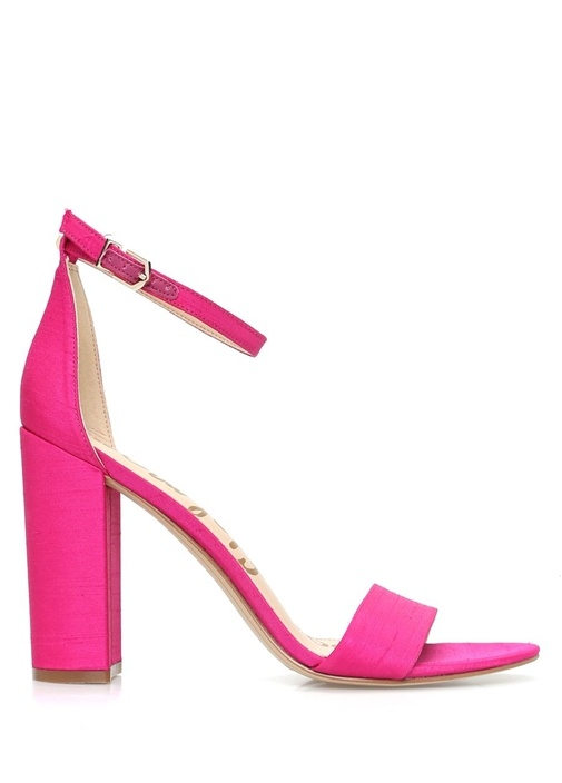 Yaro Fuşya Kadın Deri Sandalet