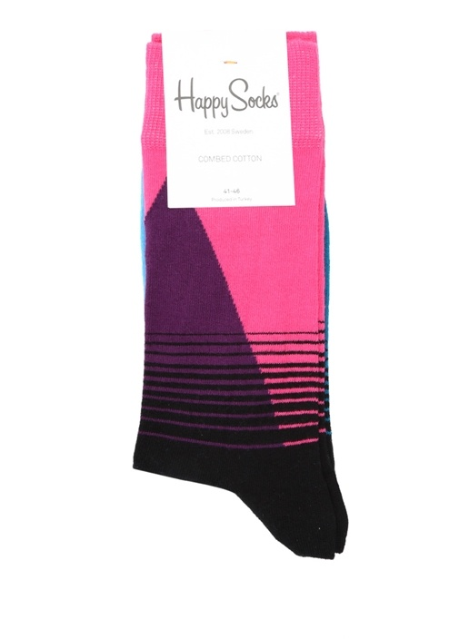 Colorblocked Erkek Çorap