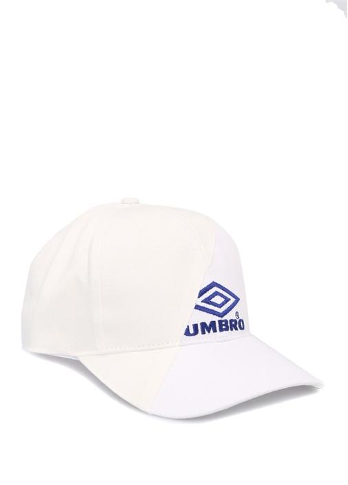 Beyaz Nakışlı Erkek Şapka
