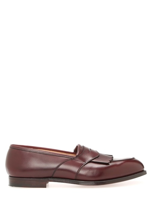 Crocket & Jones Bordo ERKEK  LOAFER 476130 Beymen