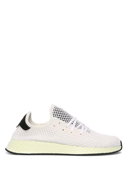 Adidas Beyaz ERKEK  Deerupt Beyaz File Detaylı Erkek Sneaker 396660 Beymen