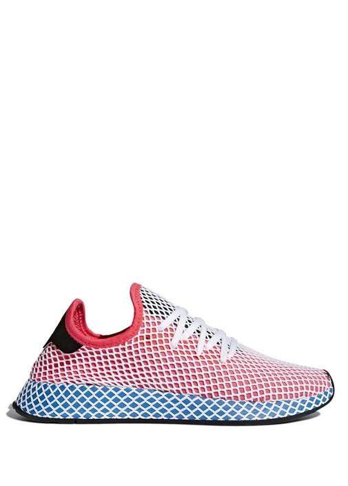 Adidas Kırmızı ERKEK  Deerupt Kırmızı File Detaylı Erkek Sneaker 396711 Beymen