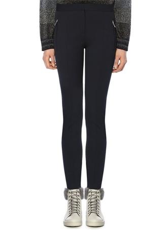 Beymen Club Kadın Lacivert Dikiş Detaylı Dar Paça Pantolon 40 EU
