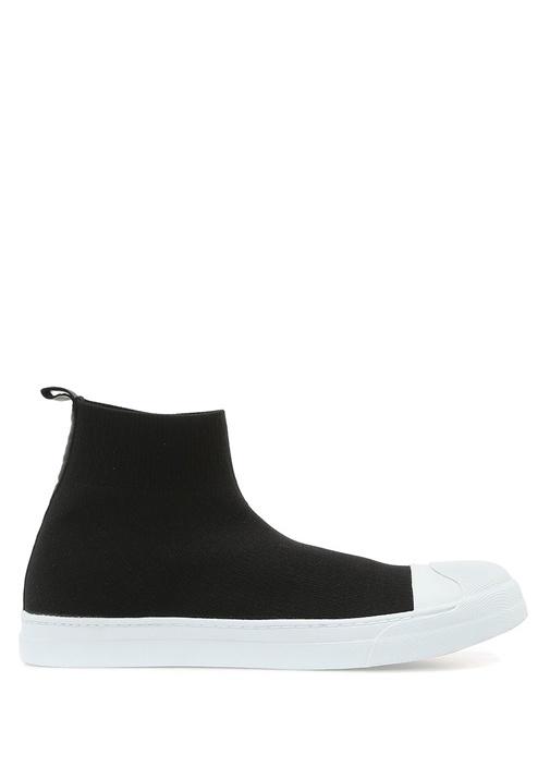 Neil Barrett Siyah-Beyaz ERKEK  Siyah Beyaz Logolu Çorap Formlu Erkek Sneaker 507910 Beymen