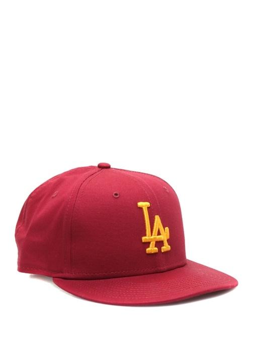 Los Angeles Dodgers Bordo Nakışlı ErkekŞapka
