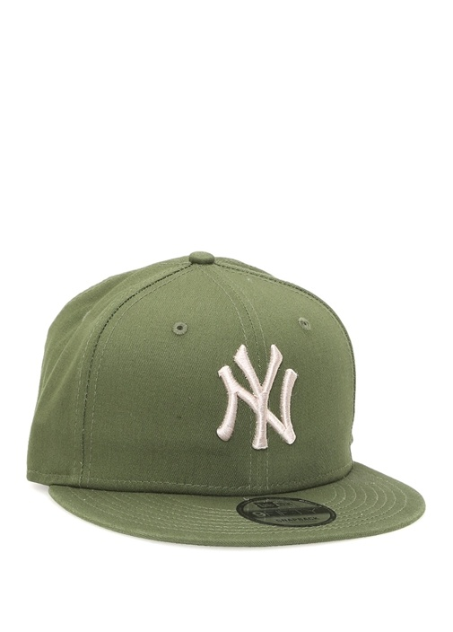 New York Yankees Haki Nakışlı Erkek Şapka
