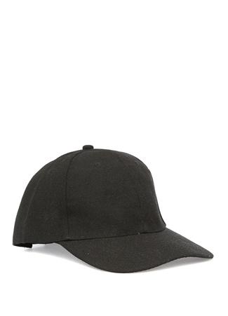 Siyah Cırt Cırt Kapatmalı Şapka